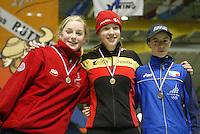 SCHAATSEN: HEERENVEEN: IJsstadion Thialf, 04-03-2005, VikingRace, Ida Njåtun (NOR), Roxanne van Hemert (NED), ©foto Martin de Jong