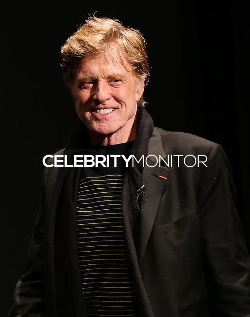 SANTA BARBARA, CA - FEBRUARY 07: Robert Redford at the 29th Santa Barbara International Film Festival - Robert Redford Honored With The American Riviera Award held at the Arlington Theatre on February 7, 2014 in Santa Barbara, California. (Photo by Xavier Collin/Celebrity Monitor)