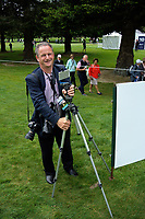 Phototgrapher Simon Woolf on day four of the 2017 Asia-Pacific Amateur Golf Championship at Royal Wellington Golf Club in Wellington, New Zealand on Sunday, 29 October 2017. Photo: Dave Lintott / lintottphoto.co.nz