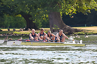 Race: 337  MasF.4x-  Final<br /> 172  Greenbank Falmouth Rowing Club<br /> 174  Upper Thames Rowing Club<br /> <br /> Henley Masters Regatta 2018 - Saturday<br /> <br /> To purchase this photo, or to see pricing information for Prints and Downloads, click the blue 'Add to Cart' button at the top-right of the page.