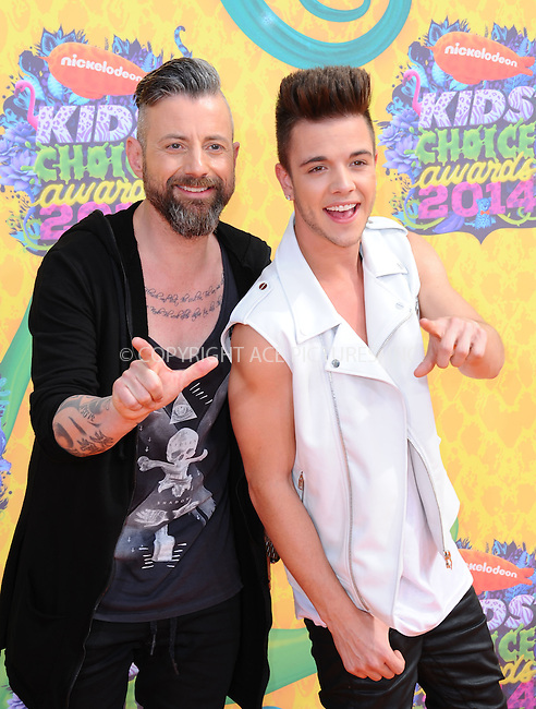 WWW.ACEPIXS.COM<br /> <br /> <br /> March 29,2014, Los Angeles,CA<br /> <br /> <br /> Luca Hanni arriving at Nickelodeon's 27th Annual Kids' Choice Awards held at USC Galen Center on March 29, 2014 in Los Angeles, California.<br /> <br /> <br /> <br /> By Line: Peter West/ACE Pictures<br /> <br /> ACE Pictures, Inc<br /> Tel: 646 769 0430<br /> Email: info@acepixs.com