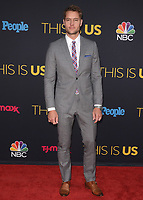 """HOLLYWOOD- SEPTEMBER 26:   Justin Hartley at the premiere of NBC's """"This Is Us"""" Season 2 at NeueHouse Hollywood on September 26, 2017 in Hollywood, California. (Photo by Scott Kirkland/PictureGroup)"""