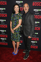 "3 March 2016 - West Hollywood, California - Mimi Rogers, Titus Welliver. Amazon Original Series ""Bosch"" Season 2 Premiere held at the Pacific Design Center. Photo Credit: Byron Purvis/AdMedia"