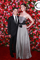 NEW YORK, NY - JUNE 10:Peter Hylenski, Suzanne Hylenski at the 72nd Annual Tony Awards at Radio City Music Hall in New York City on June 10, 2018.