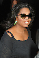 NEW YORK, NY- OCTOBER 25: Oprah Winfrey leaves ABC Studios after she guest hosts at Good Morning America in New York City. October 25, 2012. Credit: RW/MediaPunch Inc. /NortePhoto