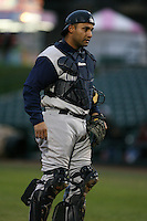 April 15th, 2007:  Wiki Gonzalez of the Charlotte Knights, Class-AAA affiliate of the Chicago White Sox, during a game at Frontier Field in Rochester, NY.  Photo by:  Mike Janes/Four Seam Images