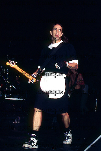 Red Hot Chili Peppers - vocalist Anthony Kiedis performing live on the One Hot Minute Tour at the Brixton Academy, London UK - 03 Oct 1995 - Photo by: George Chin/IconicPix