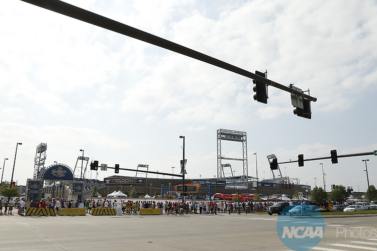24 JUNE 2012:  The University of Arizona takes on the University of South Carolina during the Division I Men's Baseball Championship held at TD Ameritrade Park in Omaha, NE.  Jamie Schwaberow/NCAA Photos