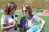 WPS Commissioner Tonya Antonucci FC Gold Pride defeated the Philadelphia Independence 4-0 to win the 2010 WPS Championship at Pioneer Stadium in Hayward, California on September 26th, 2010.