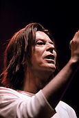 DAVID BOWIE - performing live on The Hours Tour of Europe at the Alcatraz in Milan Italy - 04 Dec 1999.  Photo credit: Barbara Caserta/Dalle/IconicPix  **UK ONLY**
