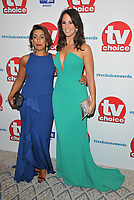 Saira Khan, Andrea McLean at the TV Choice Awards 2018, The Dorchester Hotel, Park Lane, London, England, UK, on Monday 10 September 2018.<br /> CAP/CAN<br /> &copy;CAN/Capital Pictures
