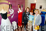 Pictured at the Rose of Tralee dresses Exihibition at Kerry County Museum on Saturday last were l-r: Sandra, Christian and Helen Leahy.