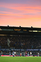 Abendstimmung in Straßburg - 22.08.2019: Racing Straßburg vs. Eintracht Frankfurt, UEFA Europa League, Qualifikation, Commerzbank Arena<br /> DISCLAIMER: DFL regulations prohibit any use of photographs as image sequences and/or quasi-video.