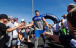 _W1_6724<br /> <br /> The BYU Football Team holds a public practice and Fan Fest at Dixie High School in St. George, Utah.<br /> <br /> 2017 BYU Football - Spring Practice March 17, 2017<br /> <br /> March 17, 2017<br /> <br /> Photo by Jaren Wilkey/BYU<br /> <br /> &copy; BYU PHOTO 2017<br /> All Rights Reserved<br /> photo@byu.edu  (801)422-7322