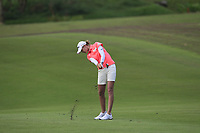 Nelly Korda (USA) in action on the 1st during Round 2 of the HSBC Womens Champions 2018 at Sentosa Golf Club on the Friday 2nd March 2018.<br /> Picture:  Thos Caffrey / www.golffile.ie<br /> <br /> All photo usage must carry mandatory copyright credit (&copy; Golffile | Thos Caffrey)