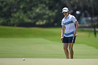 Leona Maguire (IRL) watches her putt on 4 during round 1 of the 2019 US Women's Open, Charleston Country Club, Charleston, South Carolina,  USA. 5/30/2019.<br /> Picture: Golffile | Ken Murray<br /> <br /> All photo usage must carry mandatory copyright credit (© Golffile | Ken Murray)