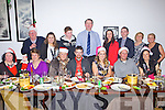 Enjoying their annual christmas party were The Athea Drama group pictured last Sunday in The Orchard House Restaurant Abbeyfeale, last Sunday evening.
