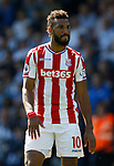 Eric Maxim Choupomoting of Stoke City during the premier league match at the Hawthorn's Stadium, West Bromwich. Picture date 27th August 2017. Picture credit should read: Simon Bellis/Sportimage