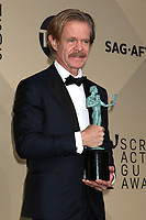 LOS ANGELES - JAN 21:  William H Macy at the 24th Screen Actors Guild Awards - Press Room at Shrine Auditorium on January 21, 2018 in Los Angeles, CA