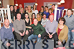 BIRTHDAY GIRL: Laura Boyle-O'Mahony, Fermoy, Cork (originally Tralee, seated 2nd left) enjoying a great time celebrating her 40th birthday with family and friends at Kirby's Brogue Inn, Tralee on Saturday.