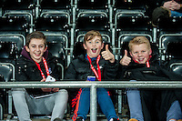 Swansea Fans ahead of the Barclays Premier League match between Swansea City and Sunderland played at the Liberty Stadium, Swansea  on  January the 13th 2016