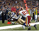 September, 26, 2010 - St Louis, MO - St. Louis wide receiver Mark Clayton (89) makes a catch in the game between the St. Louis Rams and the Washington Redskins at the Edward Jones Dome.  The Rams defeated the Redskins 30 to 16.