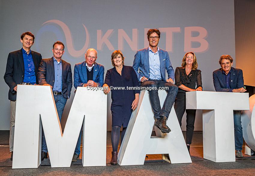 Nieuwegein, Netherlands, November 23,  2019, MBC Congrescentrum, KNLTB Year Congres <br /> Photo: Tennisimages/Henk Koster