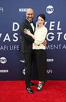HOLLYWOOD, CA - JUNE 6: Keegan-Michael Key, Elisa Pugliese, at The American Film Institute's 47th Life Achievement Award Gala Tribute To Denzel Washington at the Dolby Theatre in Hollywood, California on June 6, 2019.    <br /> CAP/MPI/SAD<br /> ©SAD/MPI/Capital Pictures