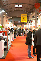 Vinisud trade wine show. Montpellier, Languedoc, France