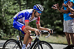 Thibaut Pinot (FRA) Groupama-FDJ during Stage 18 of the 2019 Tour de France running 208km from Embrun to Valloire, France. 25th July 2019.<br /> Picture: ASO/Pauline Ballet | Cyclefile<br /> All photos usage must carry mandatory copyright credit (© Cyclefile | ASO/Pauline Ballet)