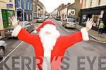 Santa visits Church Street Listowel.