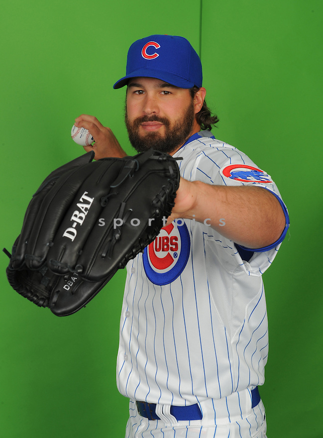 Chicago Cubs Anthony Carter (73) during photo day on March 2, 2015 in Mesa, AZ.