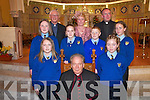 `Children from Kilmurry National School, Cordal, who received their Confirmation from Bishop Bill Murphy in St Stephen & Johns Church, Castleisland, on Thursday.