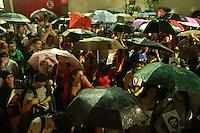 SÃO PAULO,SP, 23.03.2016 - PROTESTO-SP - Alunos da Universidade Presbiteriana Mackenzie durante ato a favor da Democracia e o apoiando o ex-presidente Luiz Inácio Lula da Silva e contra o impeachment da atual presidente Dilma Rousseff no bairro da Consolação região central de São Paulo, nesta quarta-feira, 23. (Foto: Amauri Nehn/Brazil Photo Press)