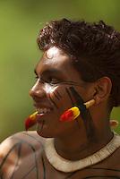 X JOGOS DOS POVOS INDÍGENAS.<br /> índio Kuikuro.<br /> <br /> Os Jogos dos Povos Indígenas (JPI) chegam a sua décima edição. Neste ano 2009, que acontecem entre os dias 31 de outubro e 07 de novembro. A data escolhida obedece ao calendário lunar indígena. com participação  cerca de 1300 indígenas, de aproximadamente 35 etnias, vindas de todas as regiões brasileiras. <br /> Paragominas , Pará, Brasil.<br /> Foto Paulo Santos<br /> 03/11/2009
