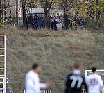 FUDBAL, BEOGRAD, 20. Nov. 2010. -  Utakmica 13. kola Jelen Superlige Srbije (2010/2011) izmedju Cukarickog i  Partizana . Foto: Nenad Negovanovic