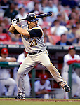 5 June 2007: Pittsburgh Pirates outfielder Xavier Nady in action against the Washington Nationals at RFK Stadium in Washington, DC. The Pirates defeated the Nationals 7-6, in the first game of their 3-game series...Mandatory Credit: Ed Wolfstein Photo