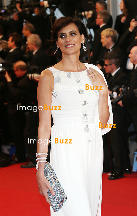 CPE/Ines de la Fressange attends the Opening Ceremony and 'The Great Gatsby' Premiere during the 66th Annual Cannes Film Festival at the Theatre Lumiere on May 15, 2013 in Cannes, France.