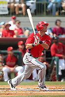 Washington Nationals outfielder Rick Ankiel #24 at bat during a spring training game against the Houston Astros at Osceola County Stadium on March 3, 2012 in Kissimmee, Florida.  Houston defeated Washington 3-1.  (Mike Janes/Four Seam Images)
