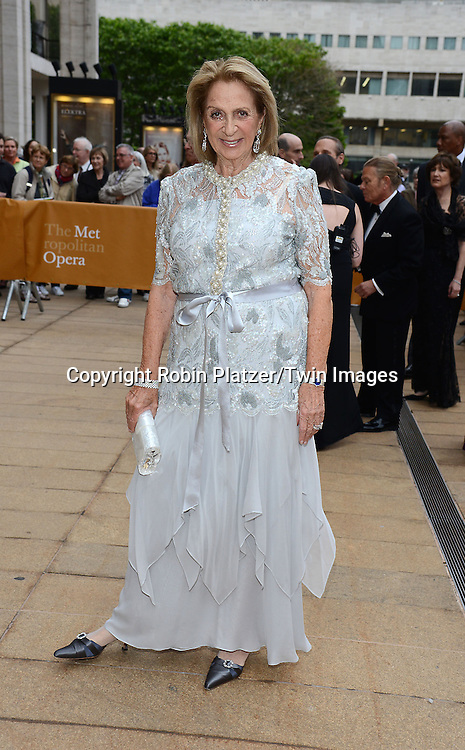 Daisy Soros attends the American Ballet Theatre's 75th Anniversary Spring Gala on May 18, 2015 at the Metropolitan Opera House in New York, New York, USA.<br /> <br /> photo by Robin Platzer/Twin Images<br />  <br /> phone number 212-935-0770