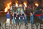 Castleisland Desmonds are led by a pitch fork fire procession through the town on Saturday night