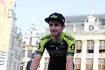 Simon Yates (GBR) Mitchelton-Scott at the team presentation held on the Grand-Place before the 2019 Tour de France starting in Brussels, Belgium. 4th July 2019<br /> Picture: Colin Flockton | Cyclefile<br /> All photos usage must carry mandatory copyright credit (© Cyclefile | Colin Flockton)