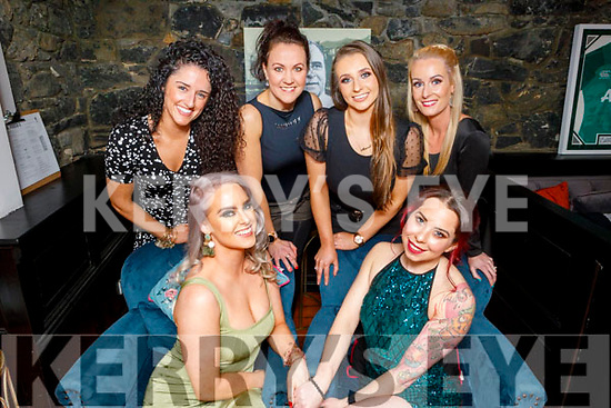 Double birthday celebrations for Sara Dennehy (Ballyduff) and Carly Norris (Tralee )in Croi on Saturday.<br /> Seated l to r: Sara Dennehy (Ballyduff) and Carly Norris (Tralee).<br /> Back l to r: Ciara Sheehy, Liisa Jahimaa, Maeve O'Leary and Stephanie O'Shea.