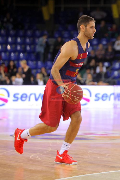 League ACB-ENDESA 2016/2017 - Game: 21.<br /> FC Barcelona Lassa vs ICL Manresa: 92-72.<br /> Stratos Perperoglu.