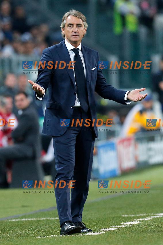 Roberto Mancini Galatasaray,<br /> Torino 02-10-2013<br /> Juventus Stadium <br /> Football Calcio 2013/2014 Champions League <br /> Juventus - Galatasaray<br /> Foto Marco Bertorello Insidefoto