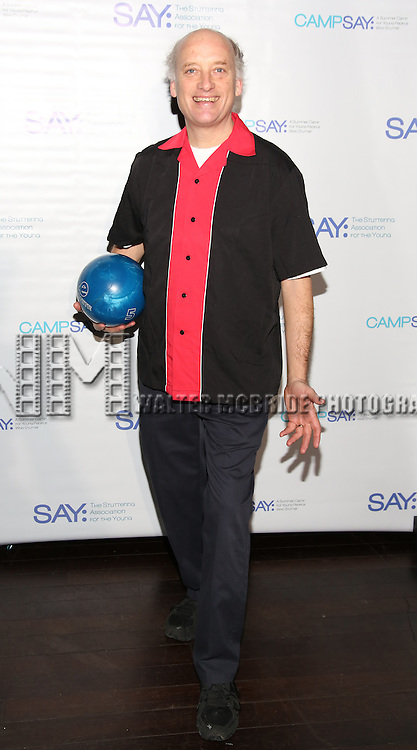 Frank Wood attends the 5th Annual Paul Rudd All-Star Bowling Benefit for (SAY) at Lucky Strike Lanes on February 13, 2017 in New York City.