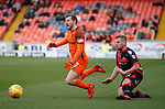 Paul McMullan fouled by Dave Cushley