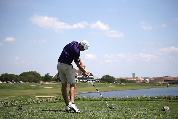 McKINNEY, TX - APRIL 23 : Southland Conference Men's Championship Golf Tournament at Stonebridge Ranch Country Club in McKinney on April 23, 2014 in McKinney, Texas. Photo by Rick Yeatts