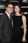 HOLLYWOOD, CA - MARCH 14: Rich Sommer and Virginia Sommer arrive at AMC's 'Mad Men' Season 5 Premiere at ArcLight Cinemas Cinerama Dome on March 14, 2012 in Hollywood, California.