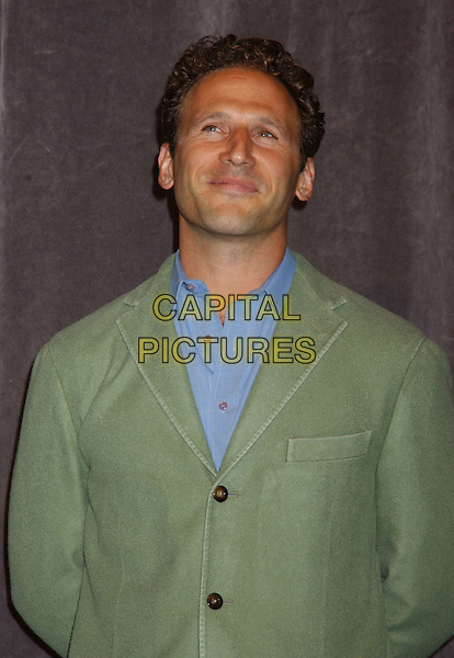MARK FEUERSTEIN.At the 'In Her Shoes' Premiere,.The Toronto Film Festival,.Toronto, 14th September 2005.half length blue shirt green jacket.Ref: ADM/LF.www.capitalpictures.com.sales@capitalpictures.com.© Capital Pictures.